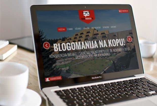Blogomanija 2013: Najveća regionalna konferencija posvećena blogu i sadržaju na Internetu održace se od 28. novembra do 01. decembra na Kopaoniku
