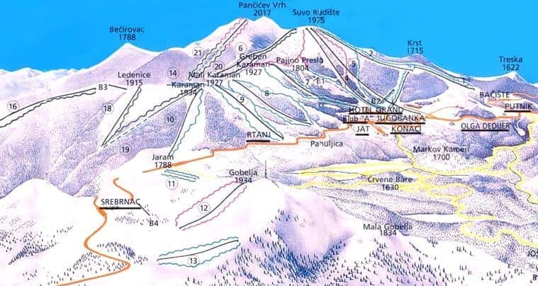 Počinju sa radom žičare Duboka 1, Duboka 2 i Kneževe bare: Kako prenose Skijališta Srbije od sutra na Kopaoniku rade još tri žičare: Duboka 1, Duboka 2,