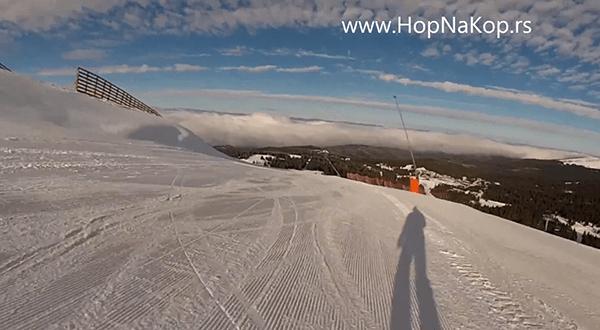 Kopaonik još snimaka ski staza: Kopaonik novi snimci ski staza. Samo za Vas HopNaKop i ski učitelj Marko Trikoš . Snimili smo Crvenu duboku staza br 6a, i