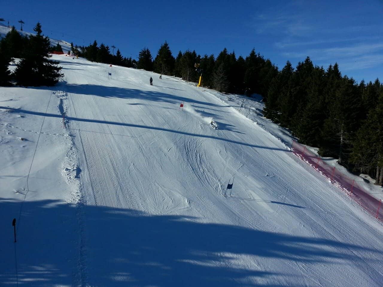 Kopaonik: Prvog dana SES kupa u ženskom slalomu Maša Janković osvojila je prvo mesto, dok Veronika Tomić nije uspela da završi trku.