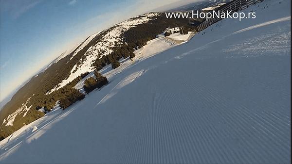 Kopaonik: snimak staze Crna duboka: Kopaonik novi snimci ski staza. Samo za Vas HopNaKop i ski učitelj Marko Trikoš . Snimili smo Crnu duboku staza br 6.