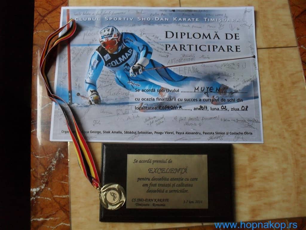 """Kopaonik: Ski kamp """"SHO – DAN  KARATE"""", Rumunija  Sunčano vreme, mnogo snega i puno inostranih gostiju obeležili su proteklu nedelju ."""