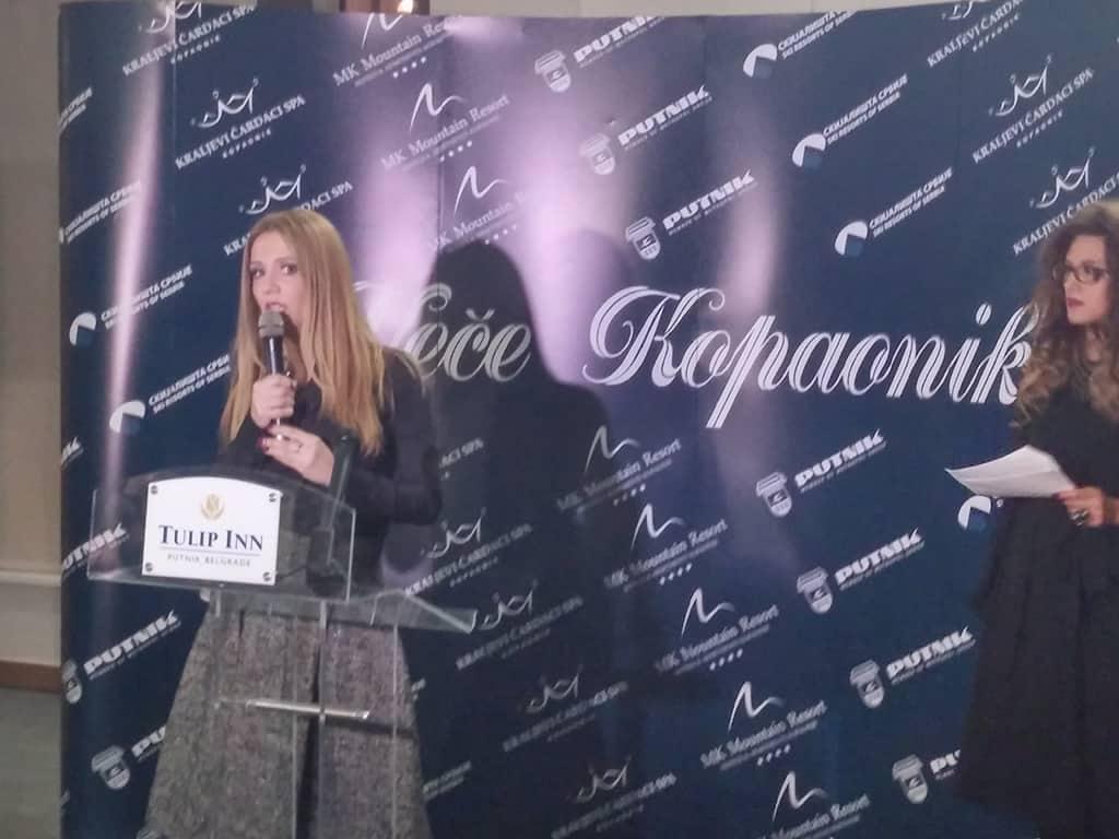 """Web portal HopNaKop.rs 25.11.2014 posetio manifestaciju ,,Veče Koponika"""".Danas u Beogradu u hotelu Tulip Inn Putnik u organizaciji Skijališta Srbije, MK"""