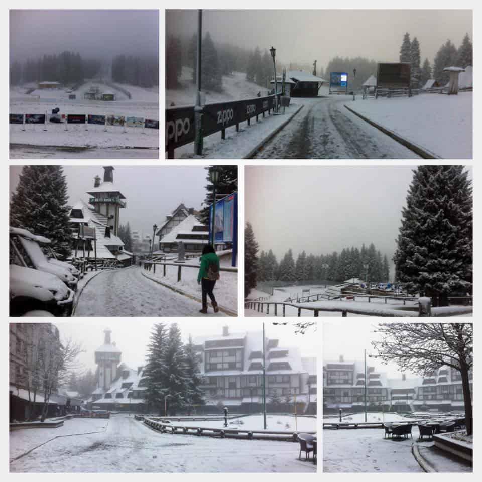 Poceo da pada sneg na Kopaoniku