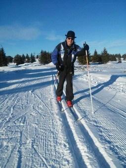 Rambo Amadeus na Kopu: Staza za nordijsko skijanje, koja se nalazi između staza Karaman greben i Mali karaman, otvorena je prošle nedelje. Ovih dana na