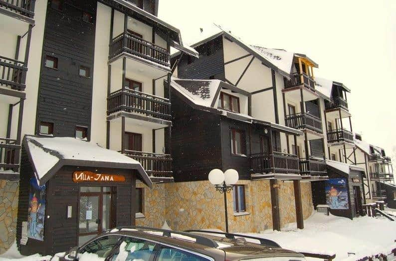 Kopanik, zima, zimovanje, skijanje, hotel Jollykop