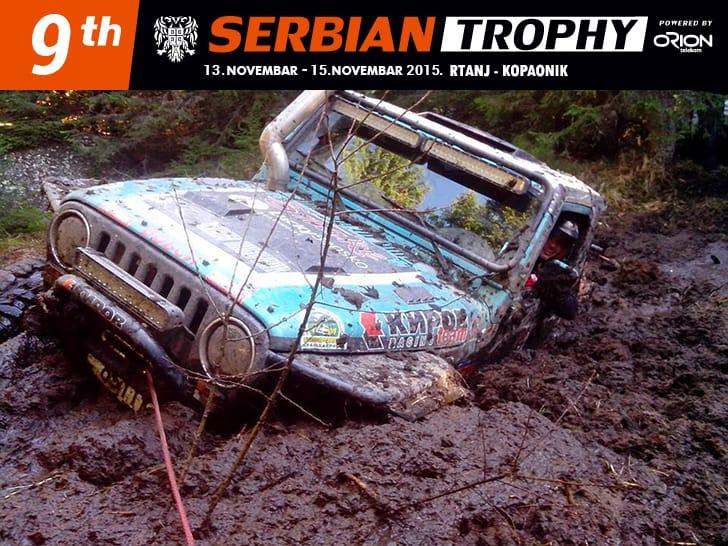 9th SERBIAN TROPHY: Devet godina već Rtanj organizuje jedno od najvećih off-road takmičenja u ovom delu Evrope.. Posade iz 12 zemalja, preko 120 vrhunskih terenaca!