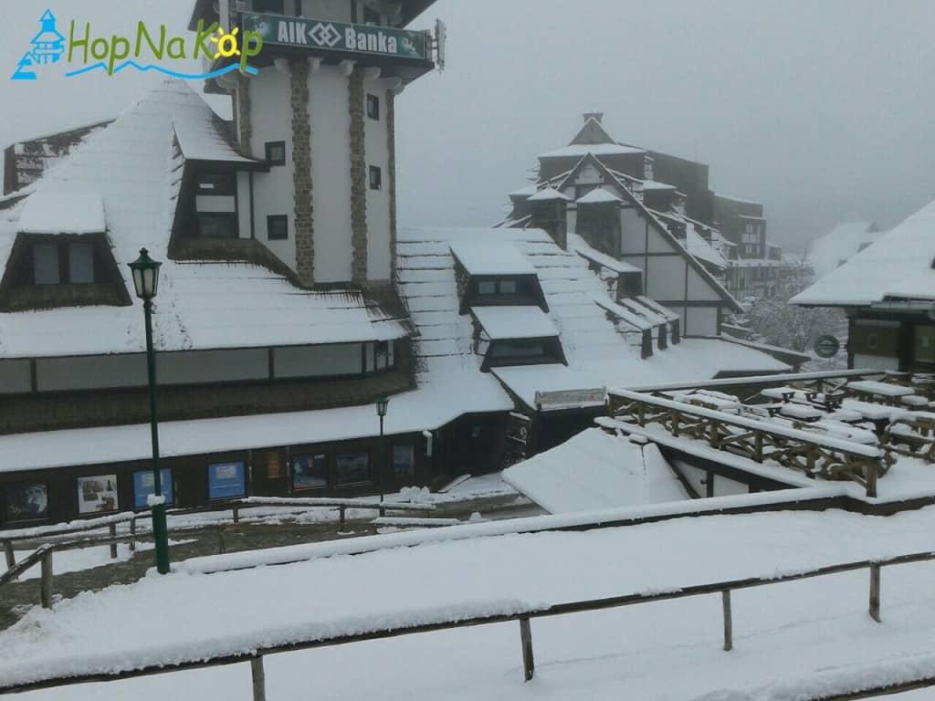 Na Kopaoniku 20 cm snega: Zimska sezona sa ovim snegom zvanično počinje. Danas na Kopaoniku preovlađuje magla a i dalje pada slab sneg, maksimalna dnevna
