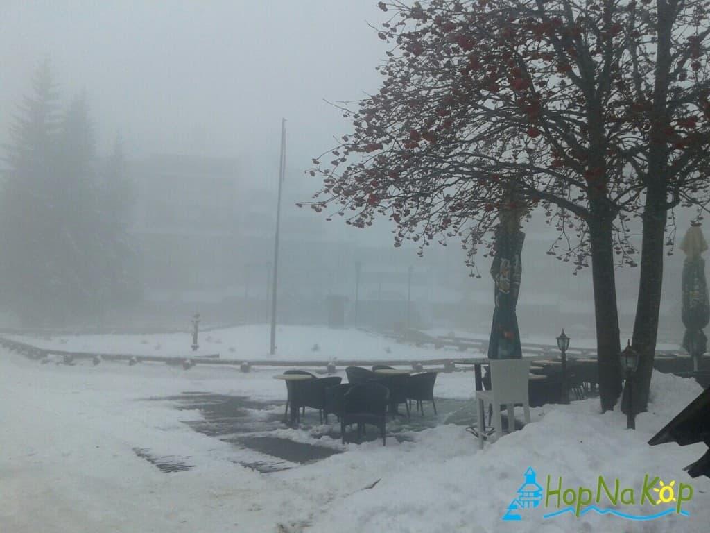 Vreme na Kopaoniku u narednim danima: Narednih dna lepo vreme uz noćne mrazeve što će omogućiti veštačko osnežvanje staza, oko 17-18 decembra vrlo
