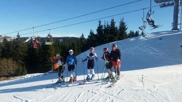 Grčki ski klubovi Tripolis i Eos Volou na pripremama na Kopaoniku: Ski klubovi Tripolis i Eos Volou, članovi grčke skijaške federacije, prvi skijaški kamp