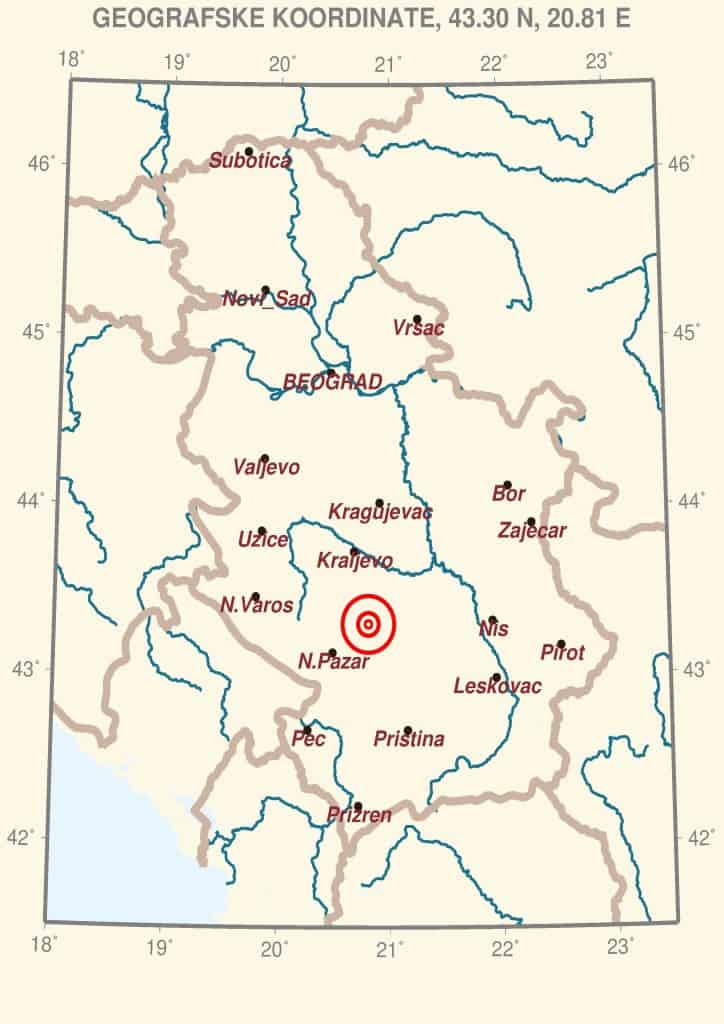 Zemljotres u podnožju Kopaonika: Večeras se na Kopaoniku osetio baži zemljotres. Kako HopNaKop sazaje u Republičkom seizmološkom zavodu, zemljotres se