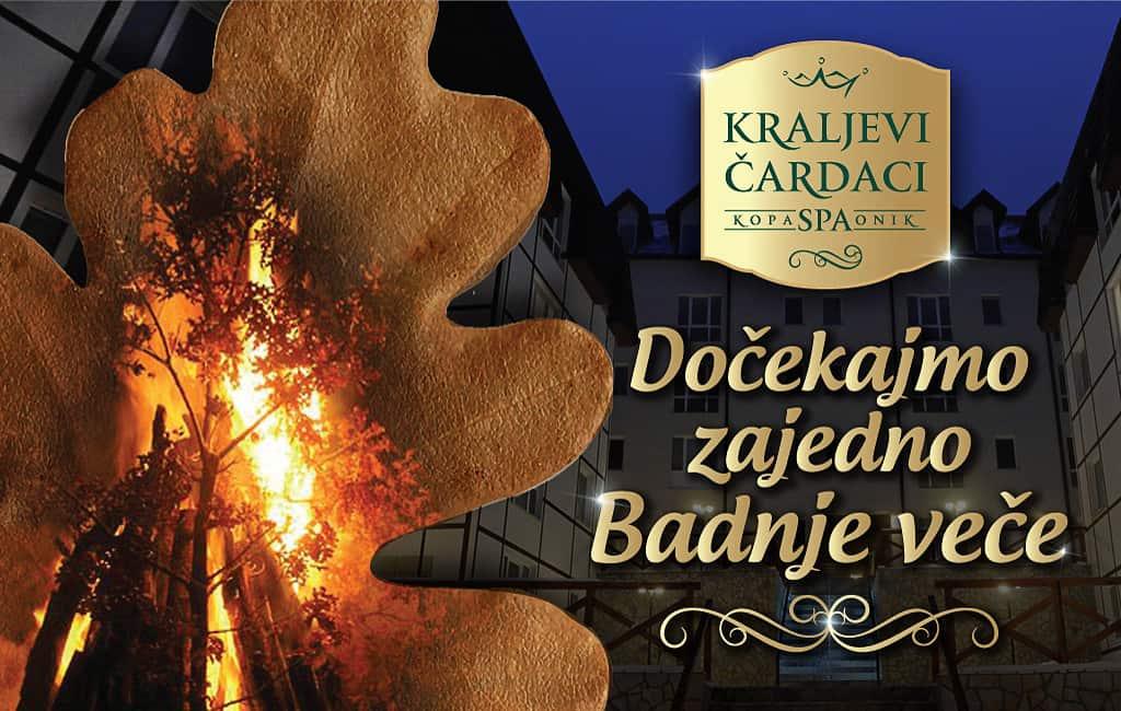 BADNJE VEČE U KRALJEVIM ČARDACIMA: Dođite da zajedno dočekamo Božić uz paljenje badnjaka, vruću rakiju, vino i uštipke.