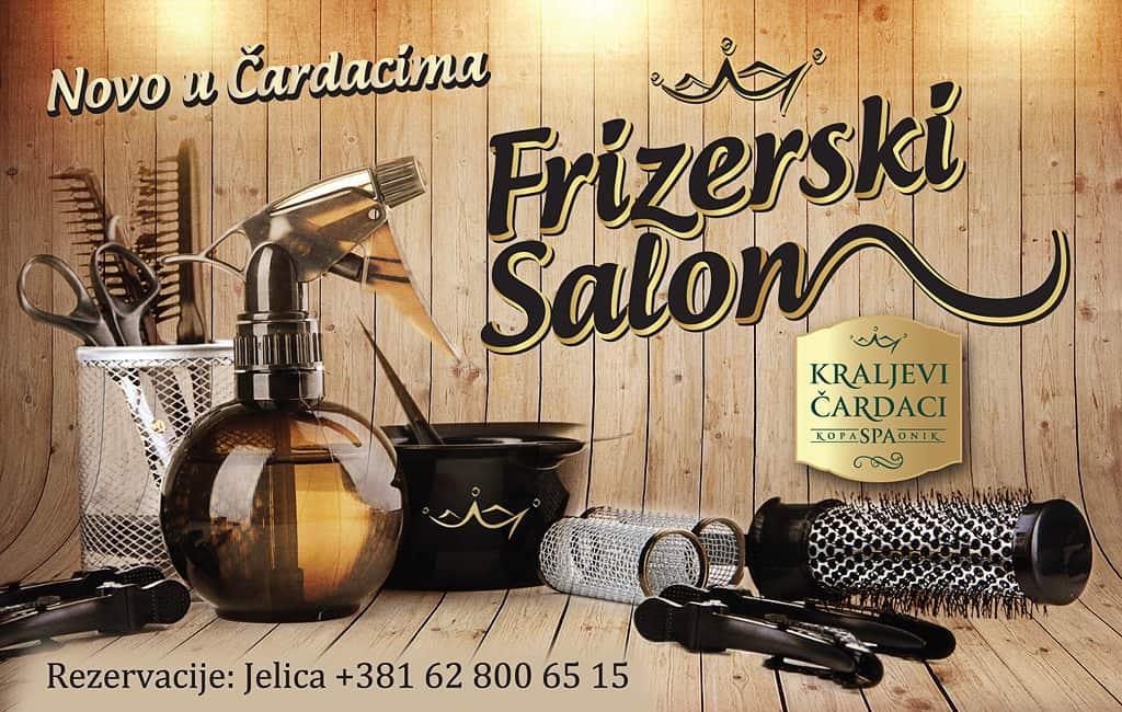 Novo u Kraljevim Čardacima! U Krljevim Čardacima je otvoren frizerski salon koji će raditi svakog dana od 12 do 20h.
