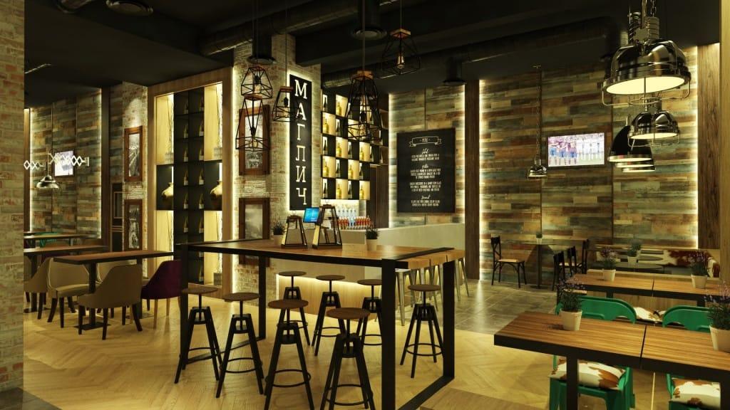 Restoran bar MAGLIČ smešten je u konacima, u istoimenom konaku na Kopaoniku. Zamišljen kao moderan gastro bar sa težnjom da pruži više od uobičajenog