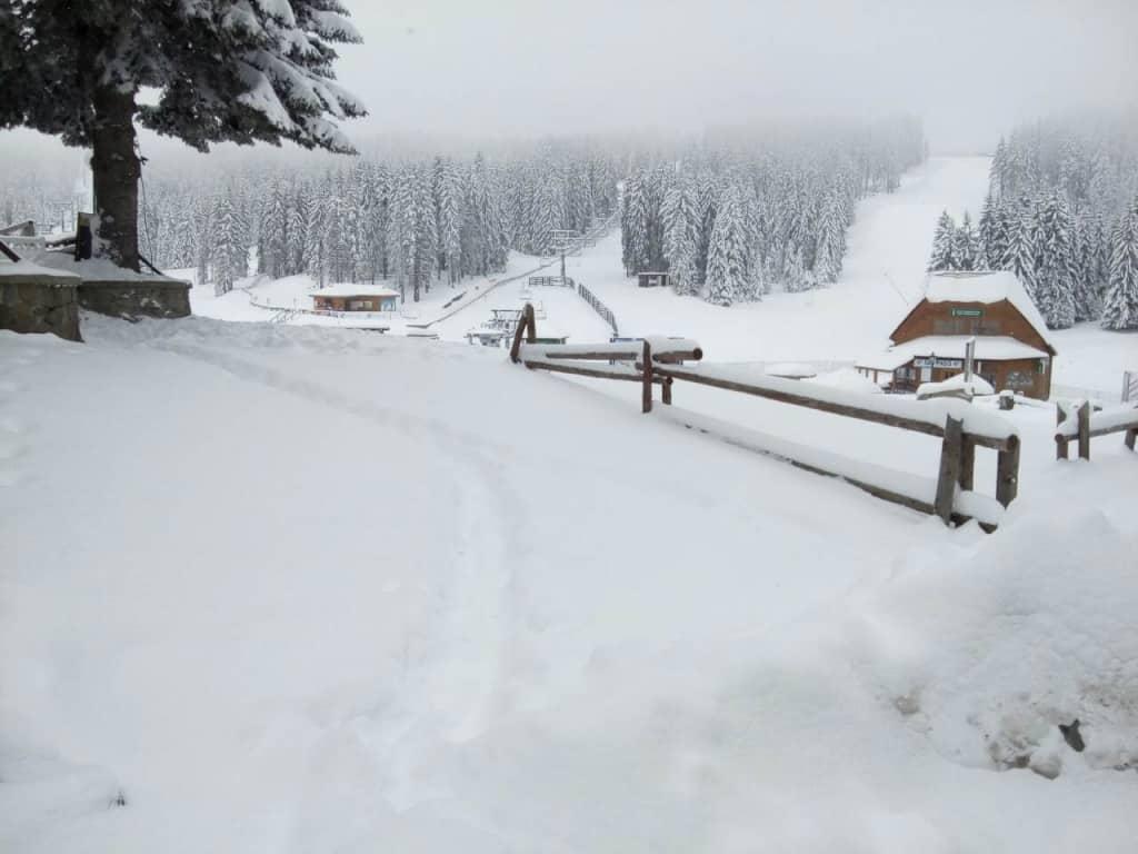 Sibirski april na Kopaoniku: Danas se u Srbiji očekuje oblačno i hladno vreme, mestimicno sa kišom, sa snegom na Kopaoniku U brdsko-planinskim predelima oč