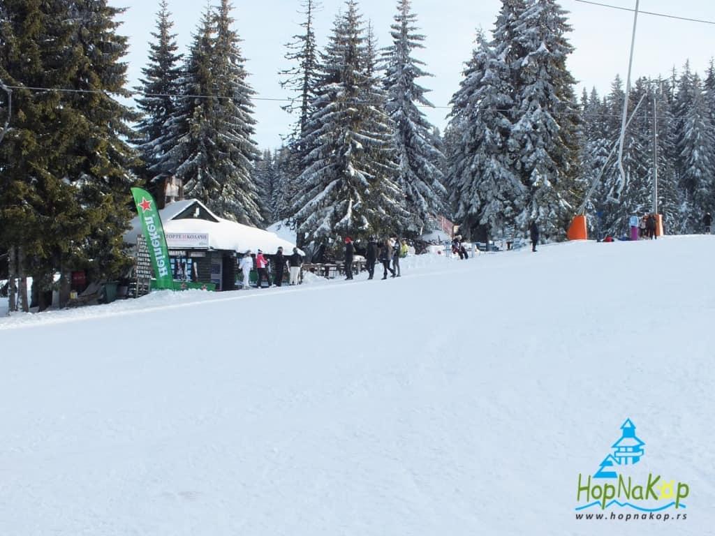 Snega preko metar na Kopaoniku:Danas na Kopaoniku prevlađuje pretežno oblačno vreme sa susnežicom i jakim snegom.Trenutna temperatura je -10°C, brzina vetra 3 m/s, pravac vetra N, vlažnost vazduha 92% a pritisak 817,5 hPa. Visina snežnog pokrivača van staza iznosi 100 cm.