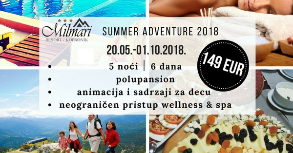 MILMARI SUMMER ADVENTURE 2018