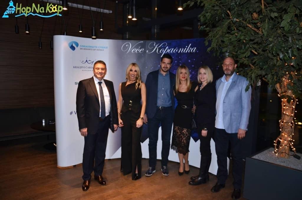 Veče Kopaonika 2017: I ove godine u organizaciji JP Skijališta Srbije, hotela Kraljevi Čardaci Spa i turističke agencije Supernova Travel organizovano je