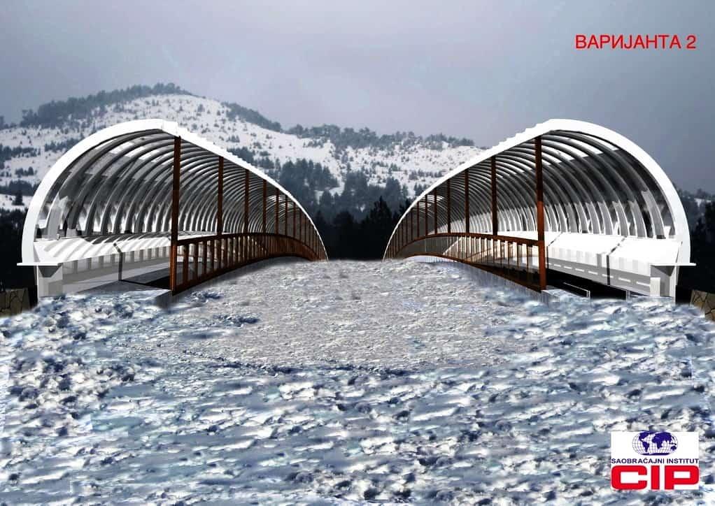 Usvojeno je rešenje skijaške paserele na prevoju Jaram na Kopaoniku koja će omogućiti da skijaši bezbedno i bez skidanja skija mogu preći preko putnog pravc