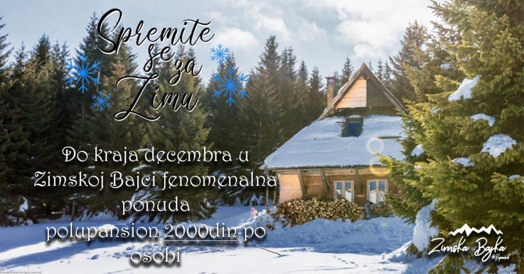 Last minute: Zimska bajka