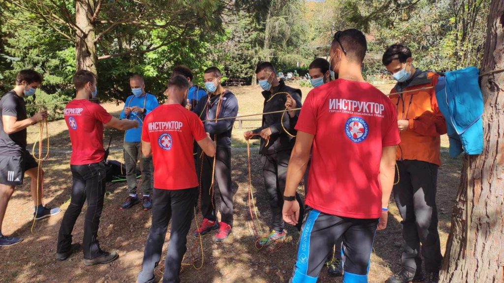 Gorska služba spasavanja počela prvu ovogodišnju obuku za nove članove - HopNaKop Kopaonik