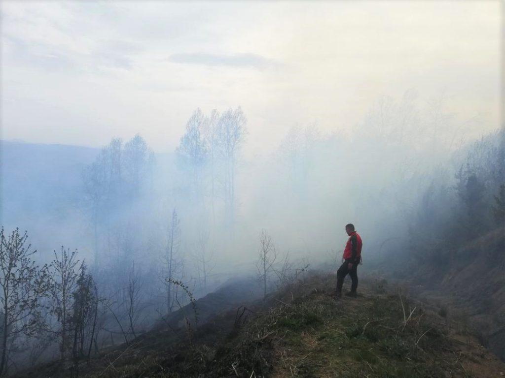 Brzom i uspešnom akcijom ugašen požar na Kopaoniku - HopNaKop Kopaonik