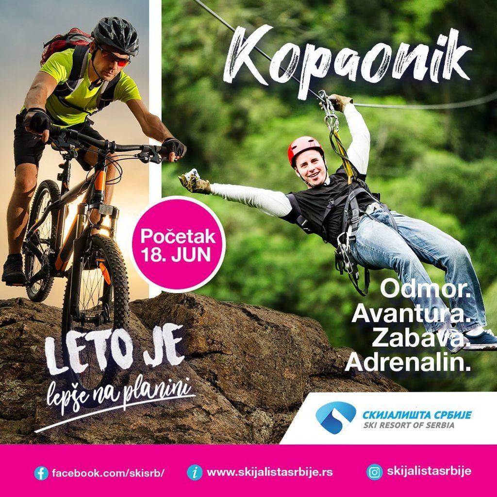 Na Kopaoniku otvorena letnja sezona (FOTO) - HopNaKop Kopaonik