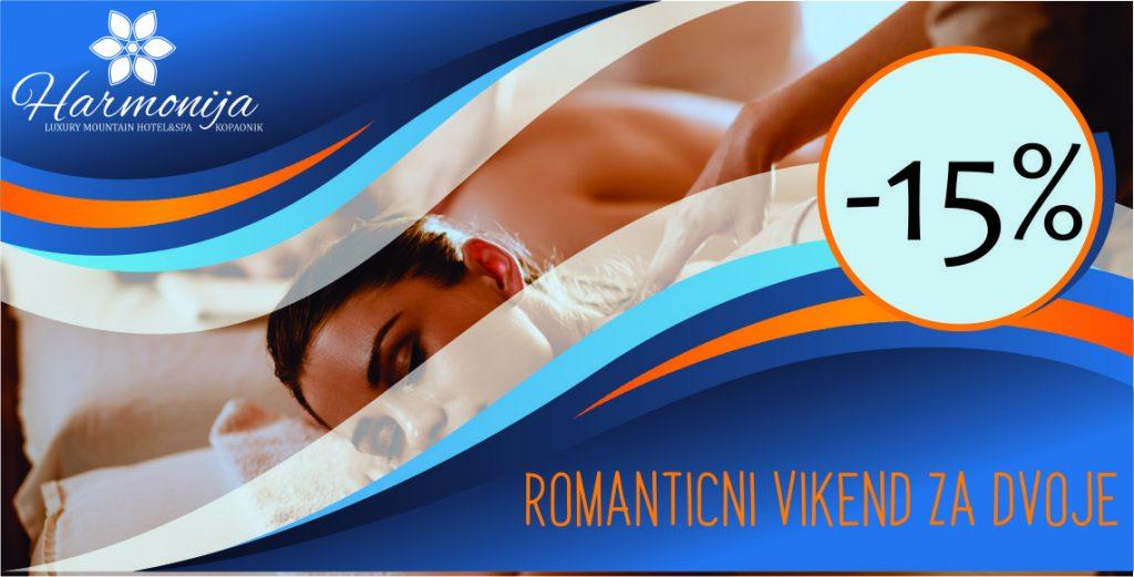 Hotel Harmonija: Romantični vikend na planini za dvoje