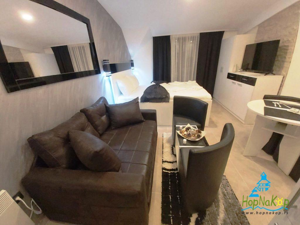 Studio apartman Milmari P79 za sve termine u martu nudi 10 posto popusta - HopNaKop Kopaonik