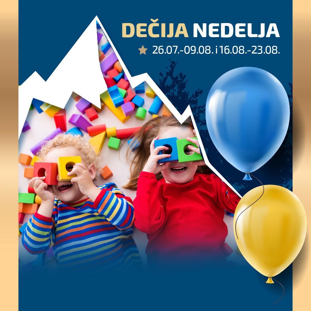 Hotel Putnik: DEČIJA NEDELJA (26.07.-09.08. i 16.08.-23.08.) - HopNaKop Kopaonik