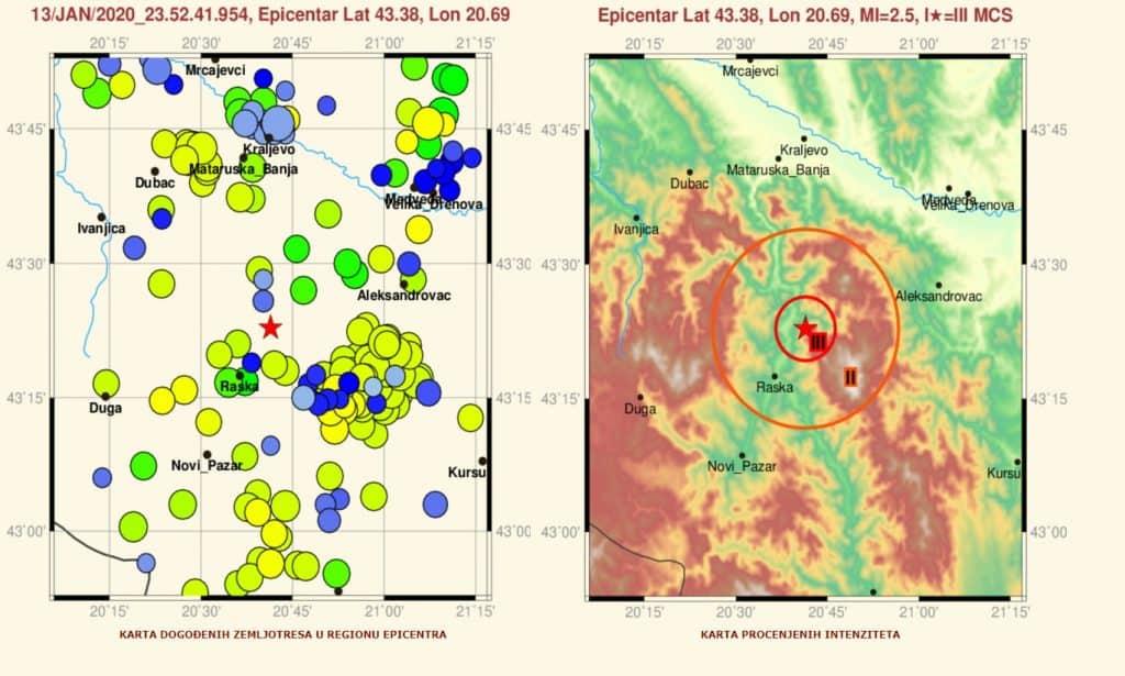 Zemljotres u podnožju Kopaonika - HopNaKop Kopaonik